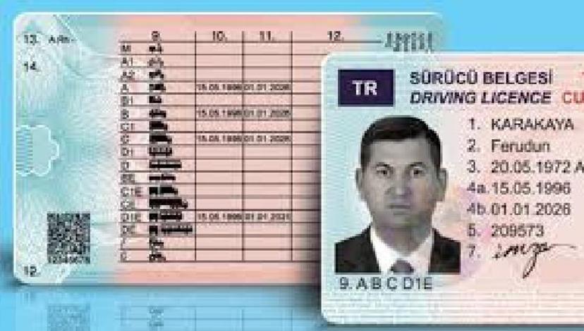 Bulgaristan'da Sürücü Belgesi